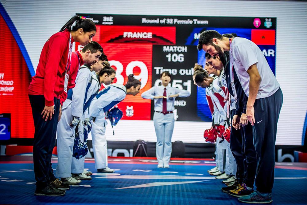 Group action ends at World Taekwondo Team Championships