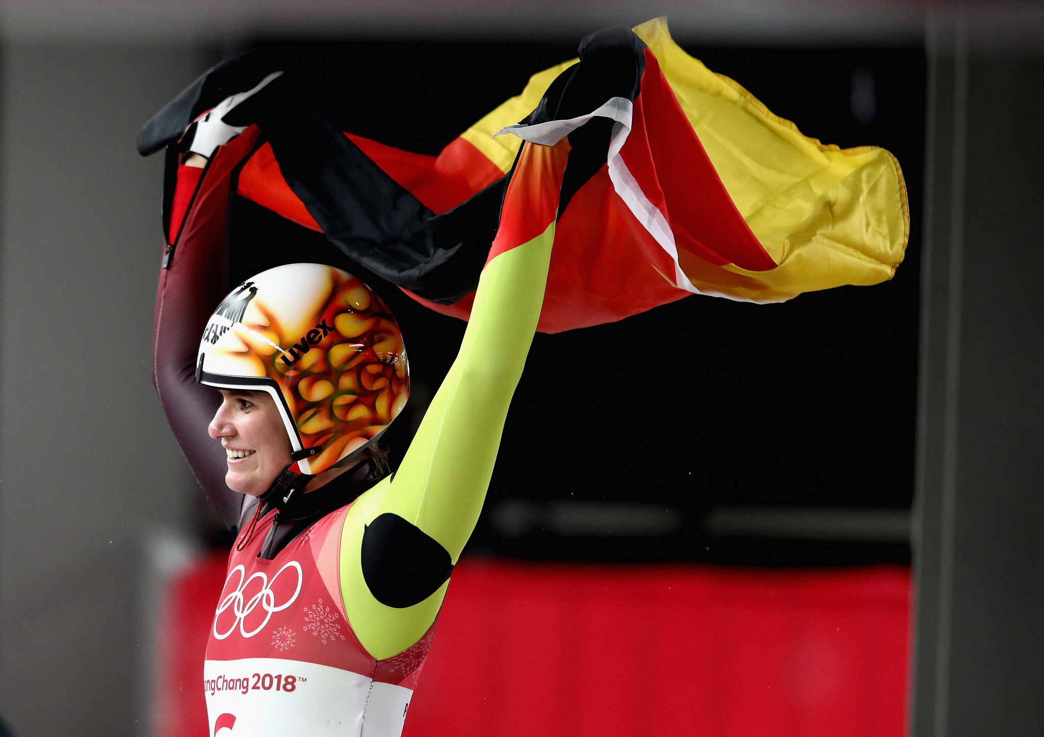 Reigning Olympic champion Natalie Geisenberger of Germany maintained her form to take gold in the first Luge World Cup event of the season in Innsbruck ©Getty Images