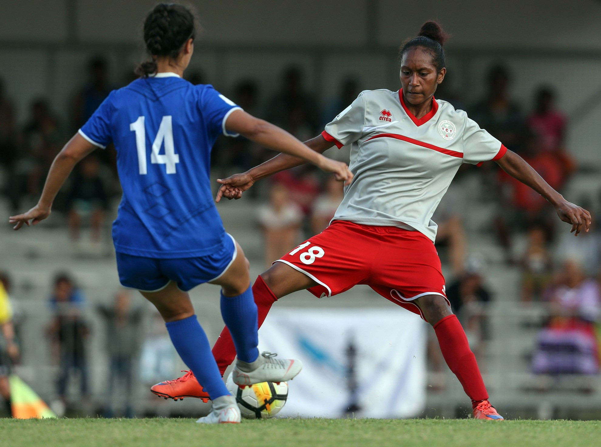 New Caledonia have made it into the sem-finals of the Oceania Football Confederation Women's Nations Cup ©OFC