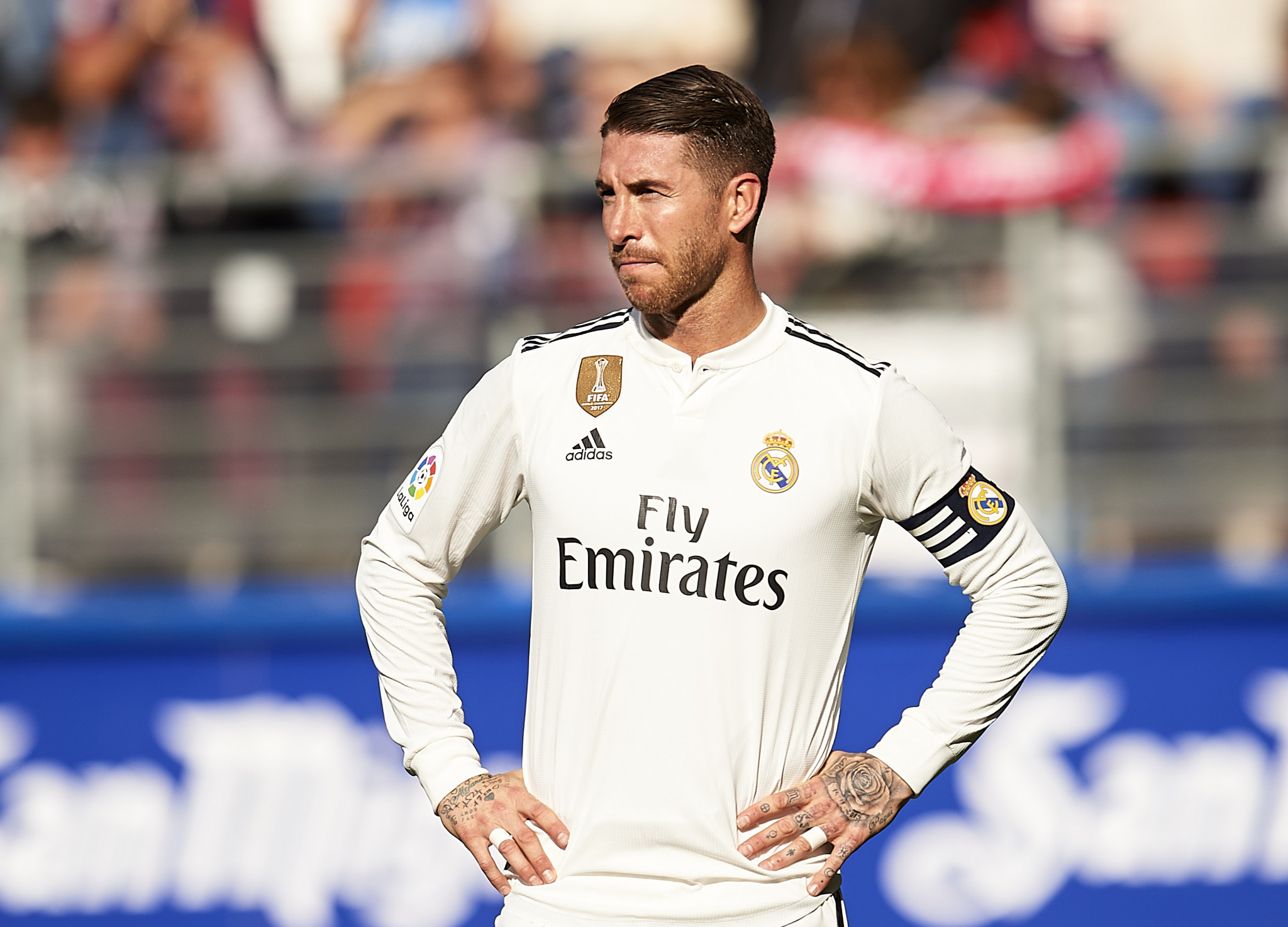 Sergio Ramos said he was vehemently opposed to doping ©Getty Images