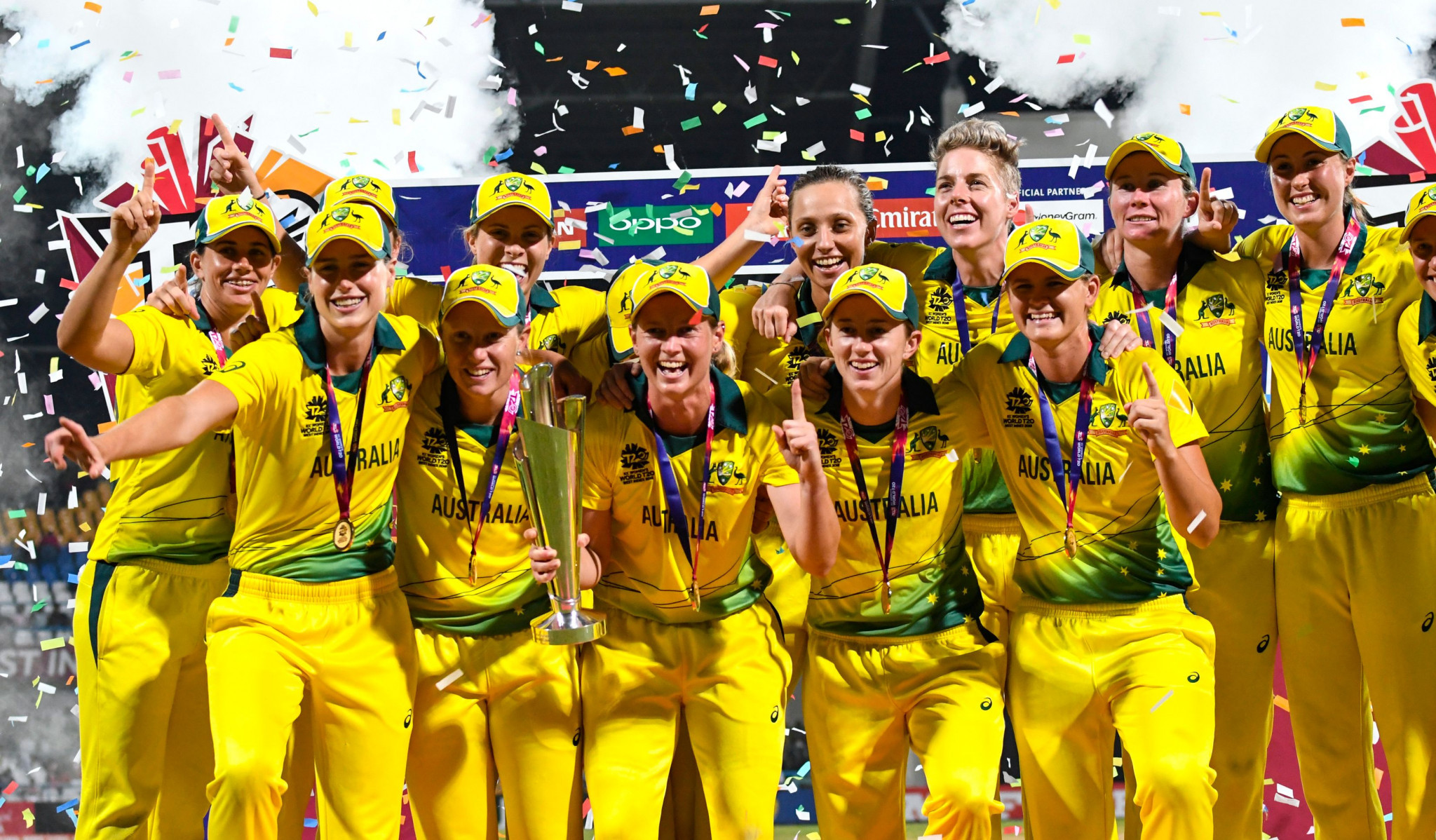 Australia won the International Cricket Council's Women's World T20 for the fourth time ©Getty Images