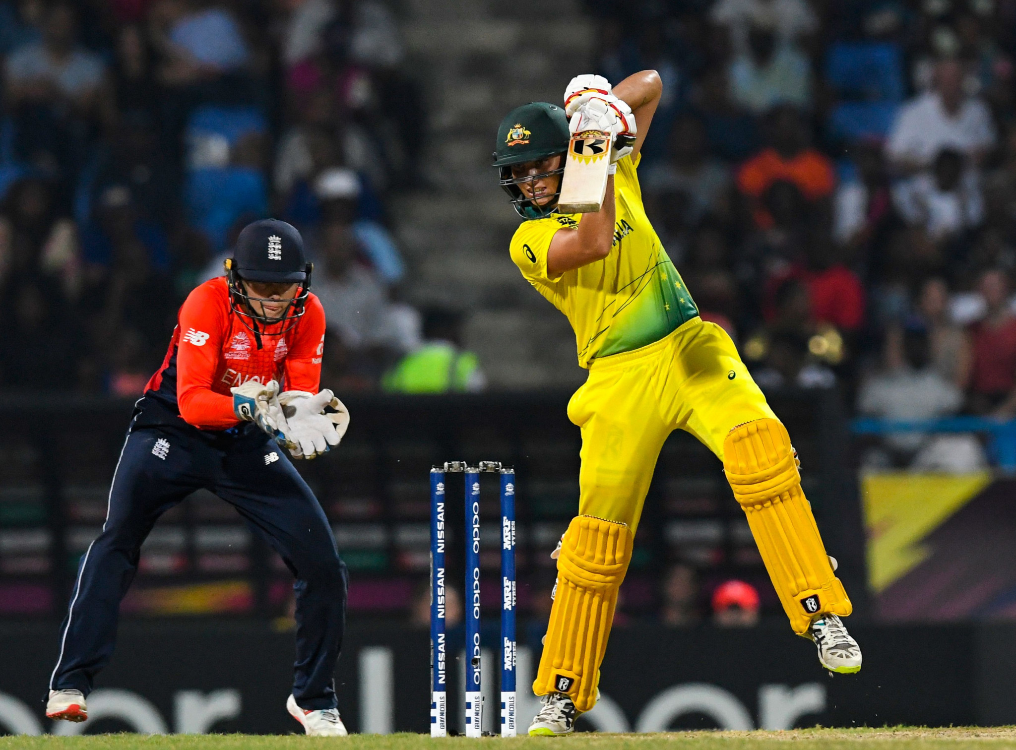 Australia's Ashleigh Gardner played a key role with both bat and ball in the final ©Getty Images