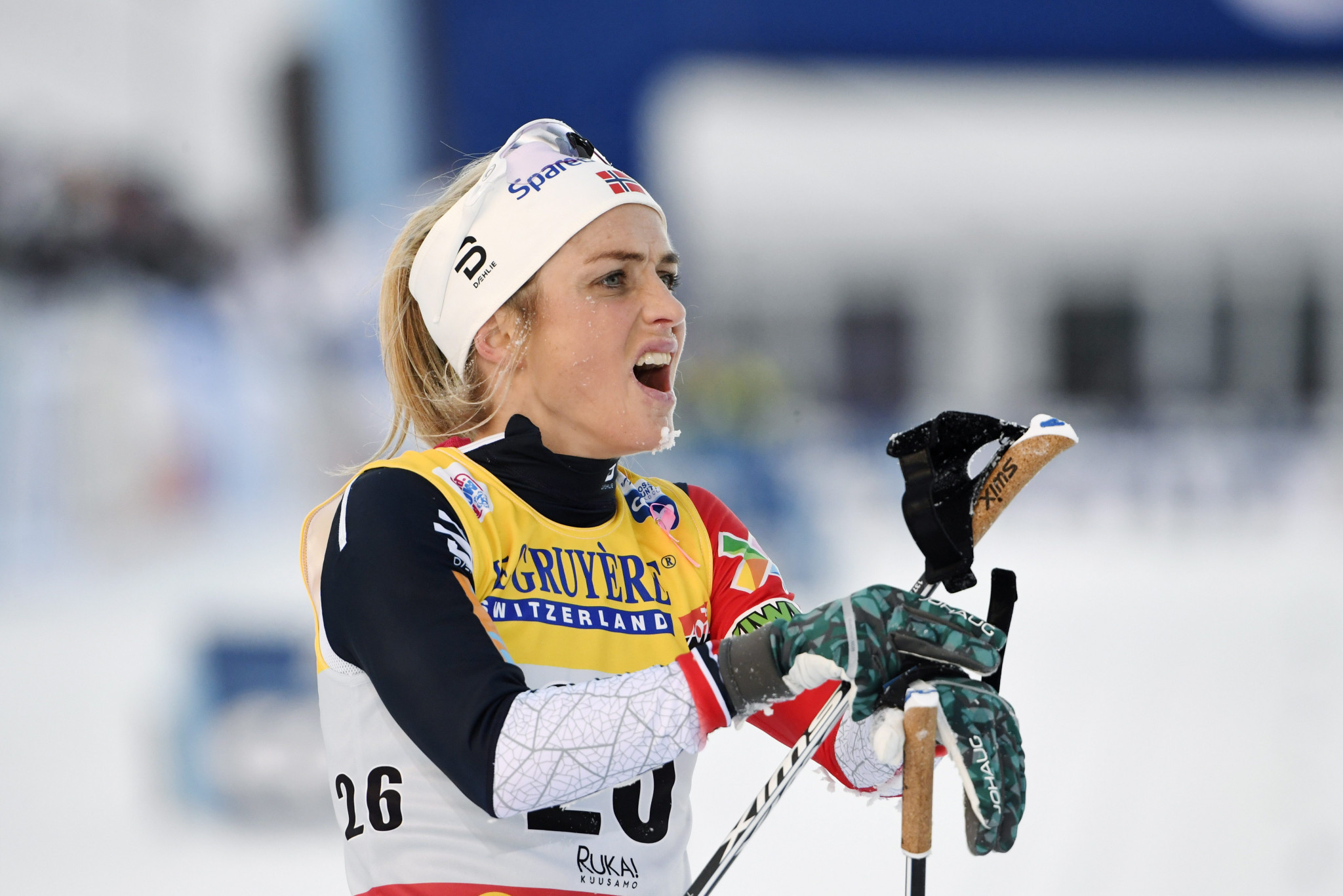 Norway's multiple world cross-country skiing champion Johaug wins first race  back after doping ban