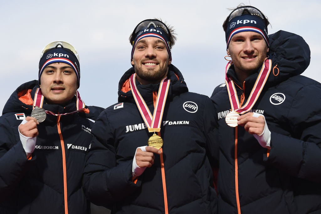 Another day, another sweep for Dutch men at ISU Speed Skating World Cup in Tomakomai