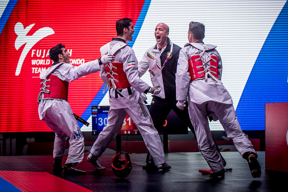 Iran retained the men's title at the World Taekwondo Team Championships with just three seconds to spare ©World Taekwondo