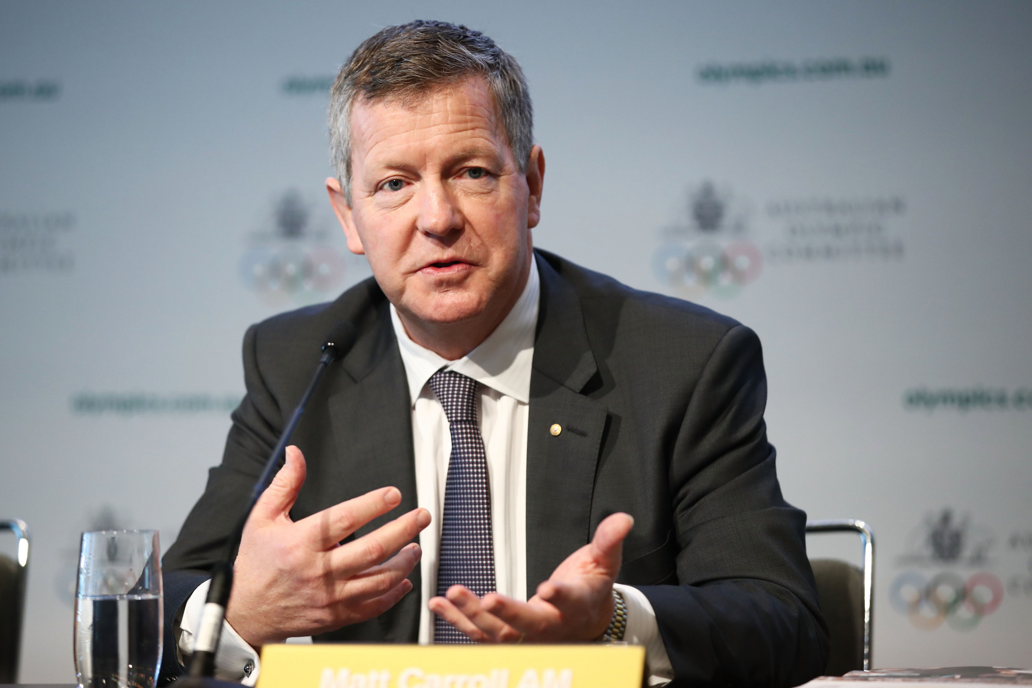 AOC chief executive Matt Carroll had called for changes to boost the Australian Institute of Sport last month ©Getty Images