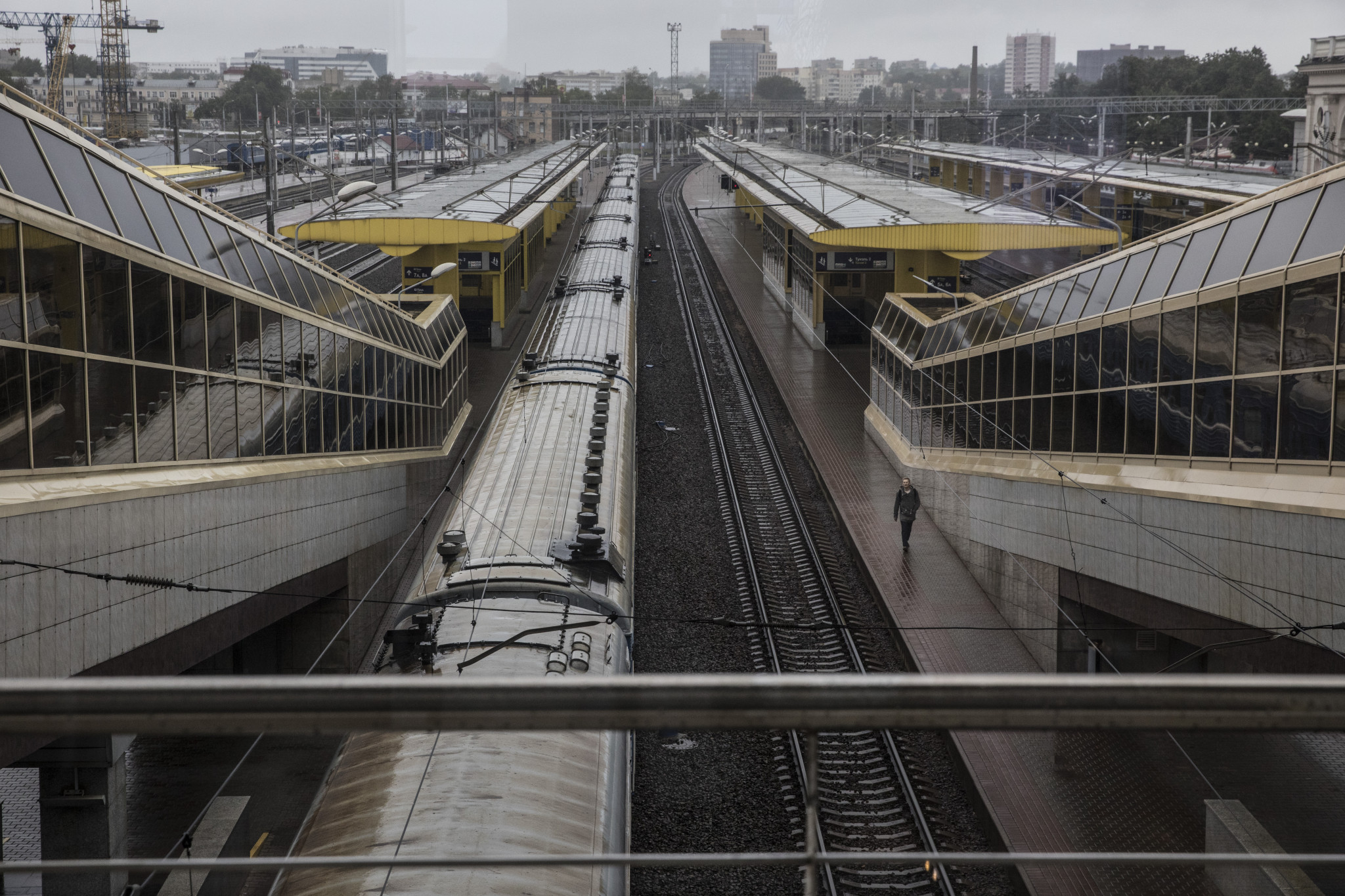 There will be an increased inter-city rail service for the European Games in Minsk next year, as announced by the head of Belrusian Railways, Vladimir Morozov ©Getty Images