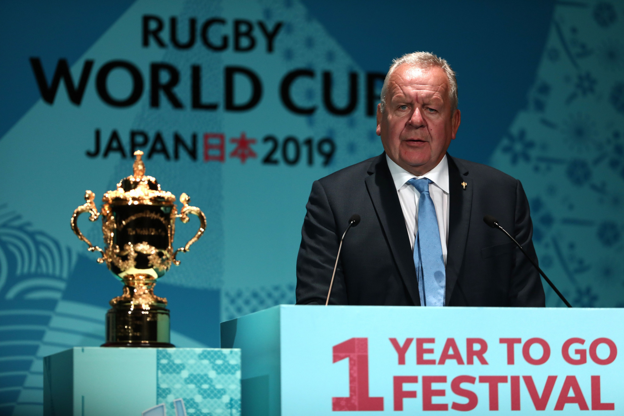 World Rugby chairman Bill Beaumont commented on the record ticket demand for the Rugby World Cup 2019, saying that it showed that Asia's first Rugby World Cup had