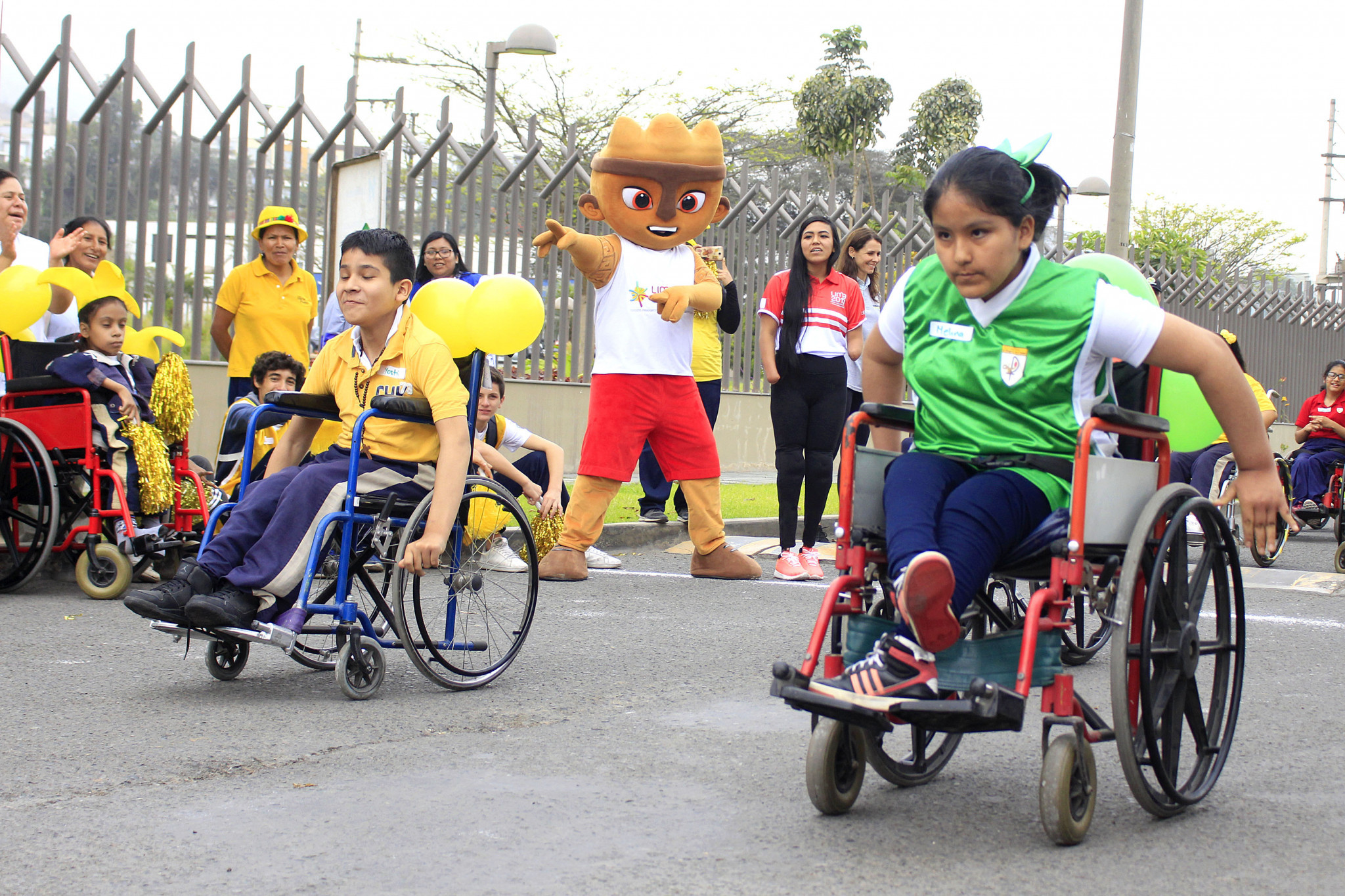 Lima 2019 sports ambassador Dunia Felices attended an event to promote the upcoming Parapan American Games in Peru's capital ©Lima 2019