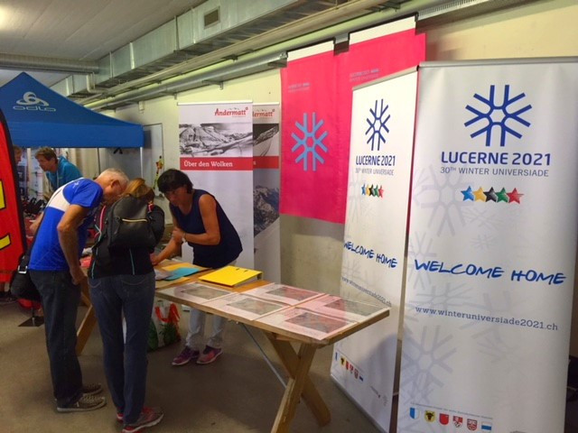 Lucerne 2021 promote Winter Universiade at Nordic Weekend