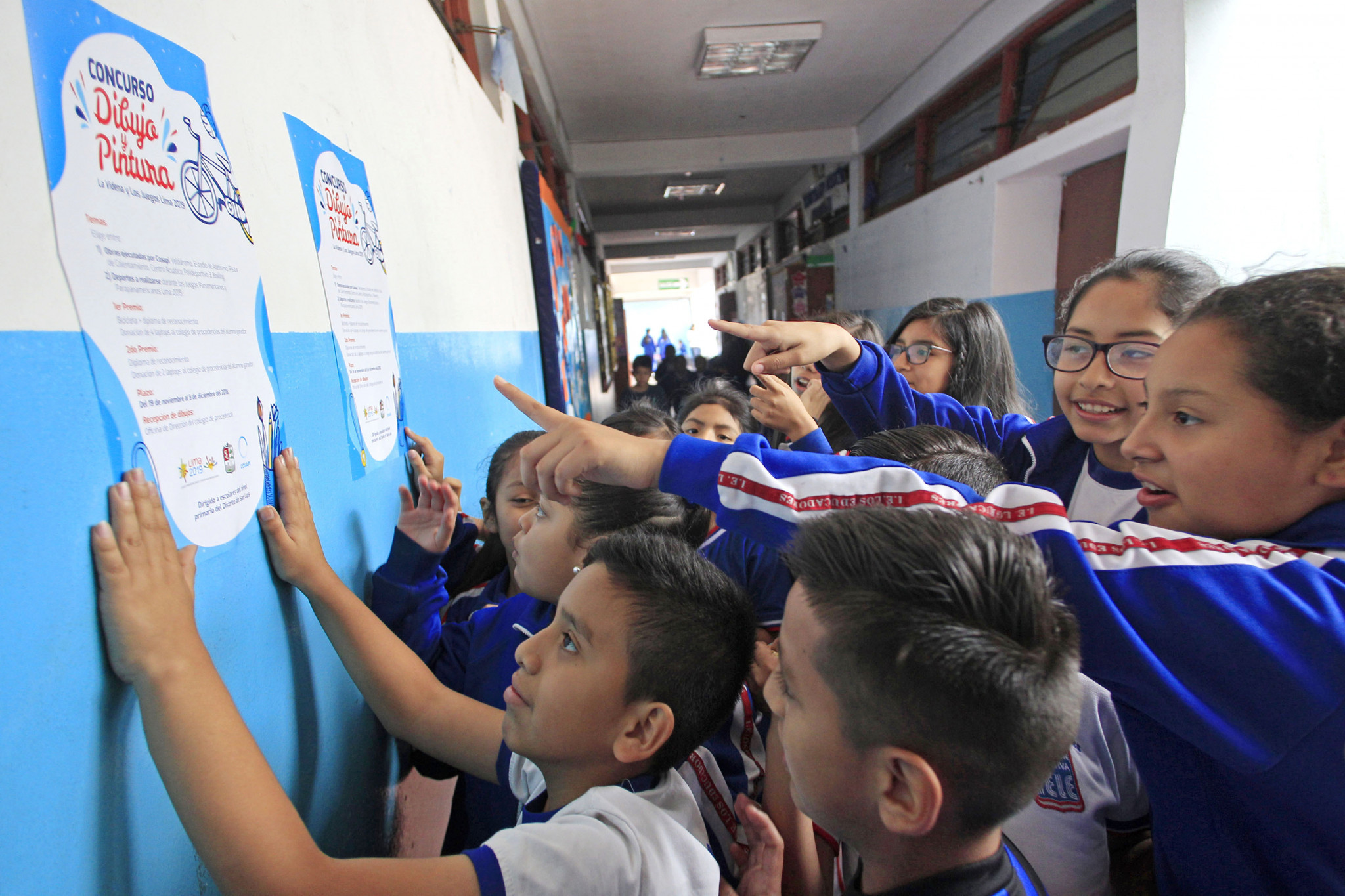 Lima 2019 launches drawing and painting competition to promote sports on Pan and Parapan American Games programmes