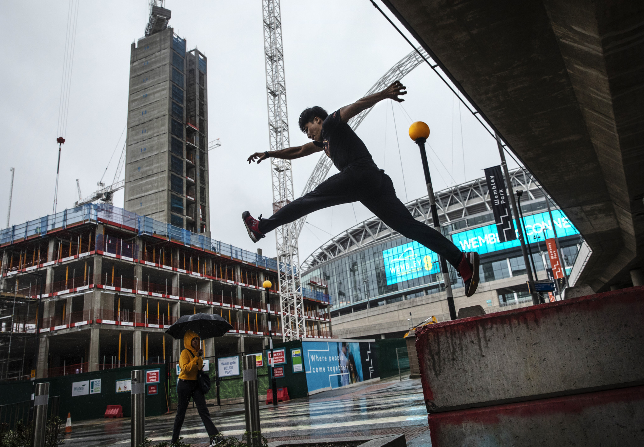 FIG has taken numerous steps in its attempt to take ownership of parkour ©Getty Images