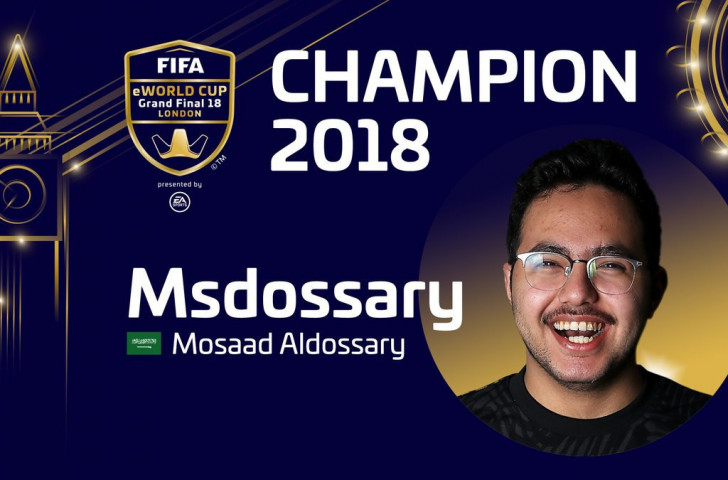 """The introduction of a new and dedicated world ranking for FIFA gaming is a fantastic step forward by FIFA and EA Sports,"" says Mosaad Aldossary, the reigning FIFA eWorld Cup champion ©FIFA"