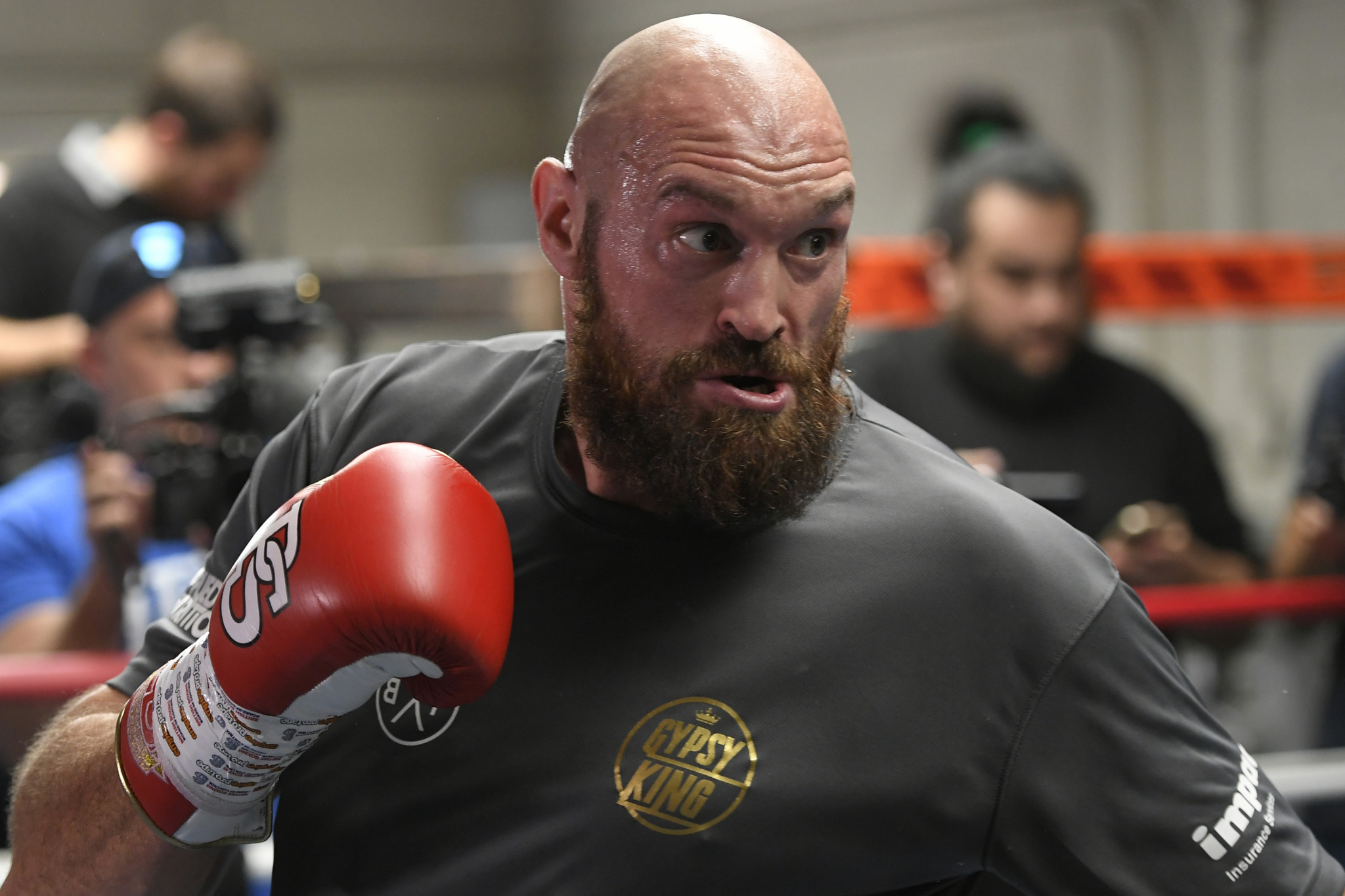 Tyson Fury's comeback has intrigued the world of boxing ©Getty Images