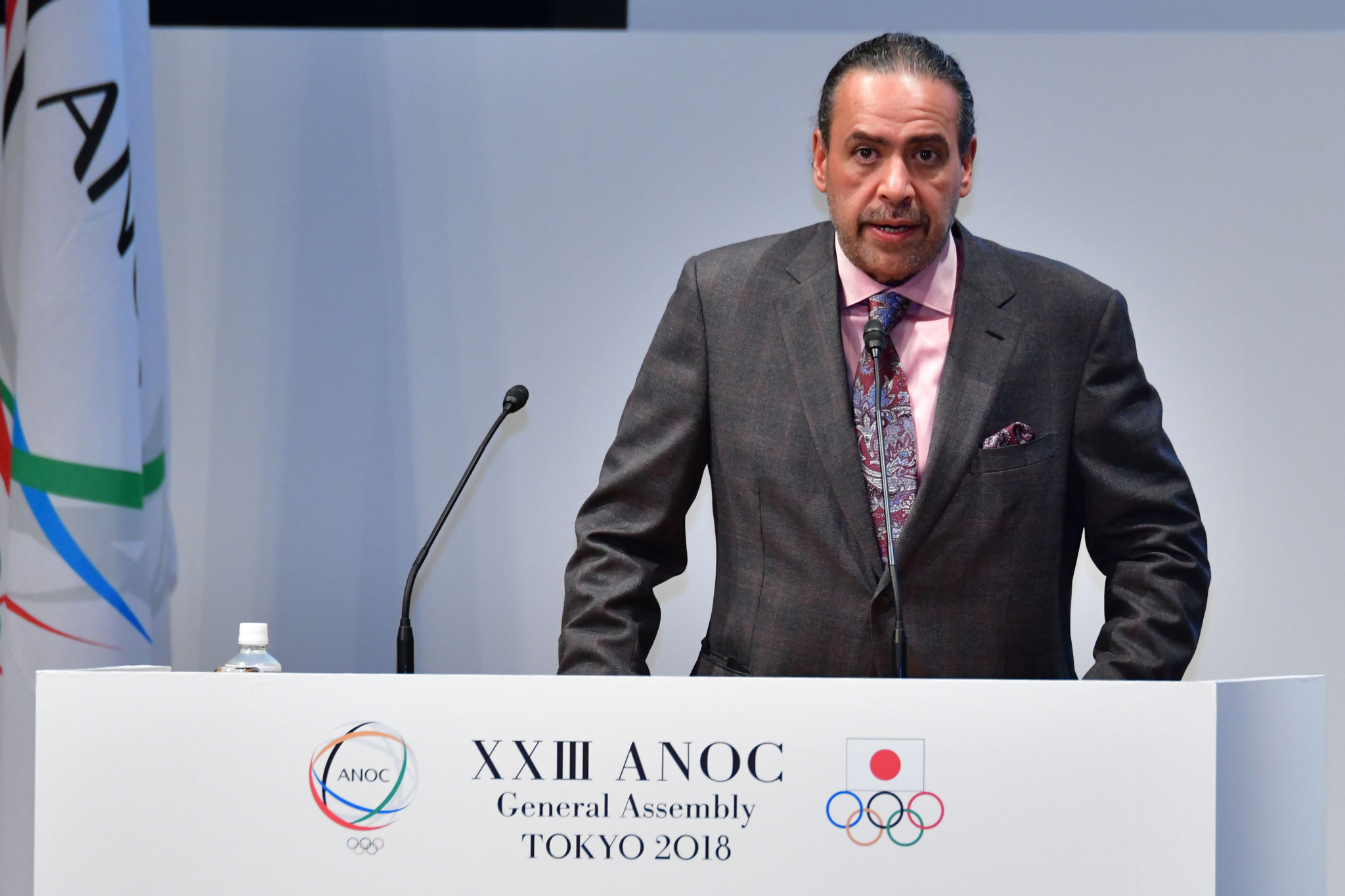 Sheikh Ahmad officially stepped down as ANOC President today ©Twitter