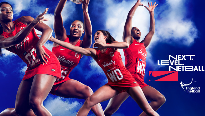 England Netball sign multi-year partnership with Nike