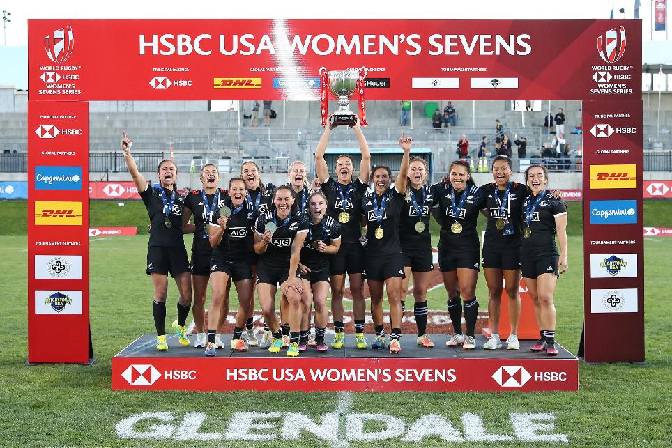 New Zealand won the opening World Rugby Women's Sevens World Series event in Glendale ©World Rugby