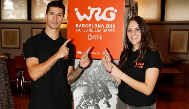 Official presentation of 2019 World Roller Games held in Barcelona