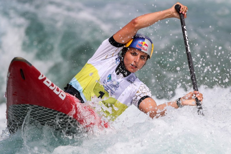 A new deal signed with Eurosport means five canoe slalom World Cup events will be broadcast live on television over the next two years ©ICF