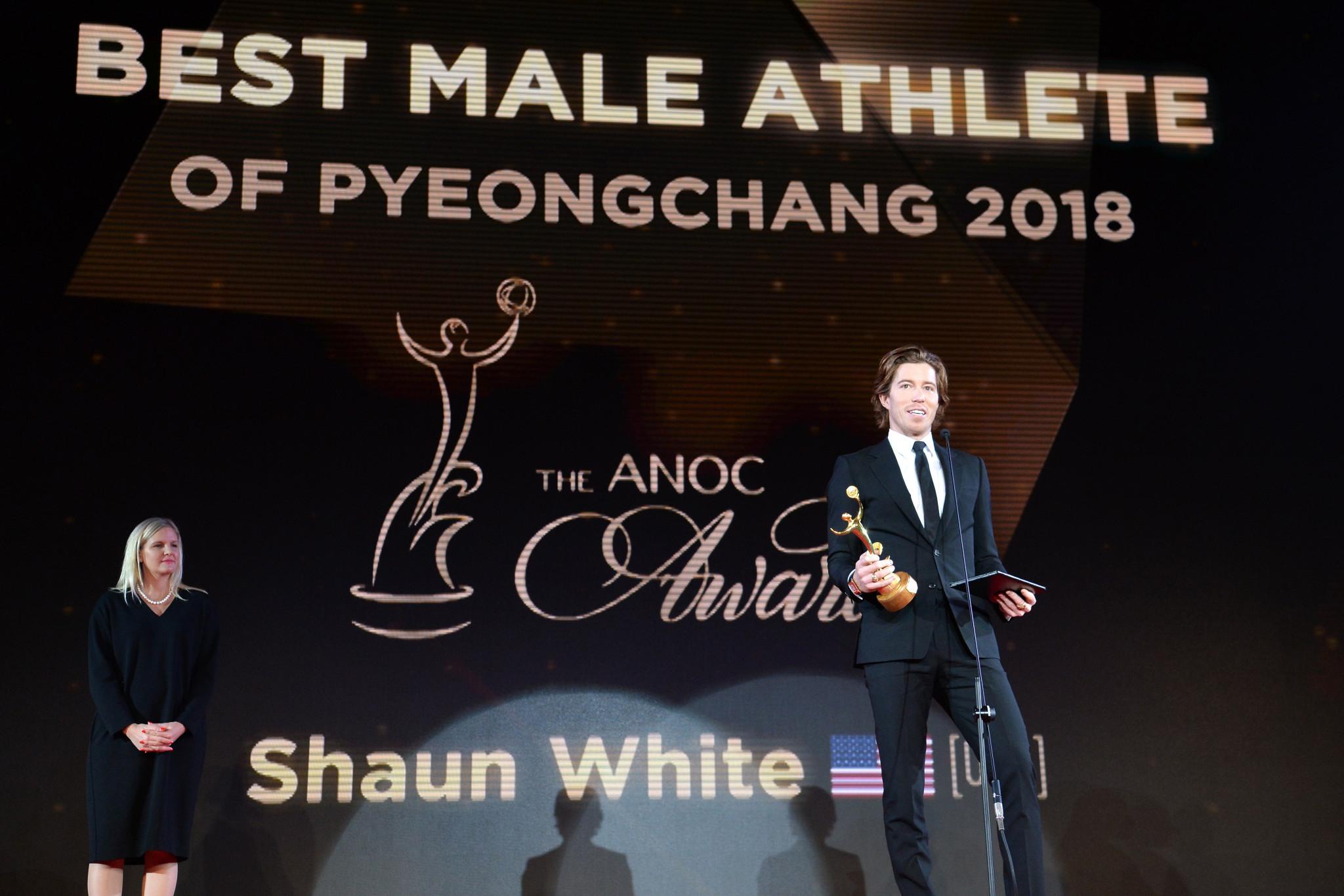 White and Fontana among Pyeongchang 2018 stars honoured as unified Korean ice hockey team win at 2018 ANOC Awards