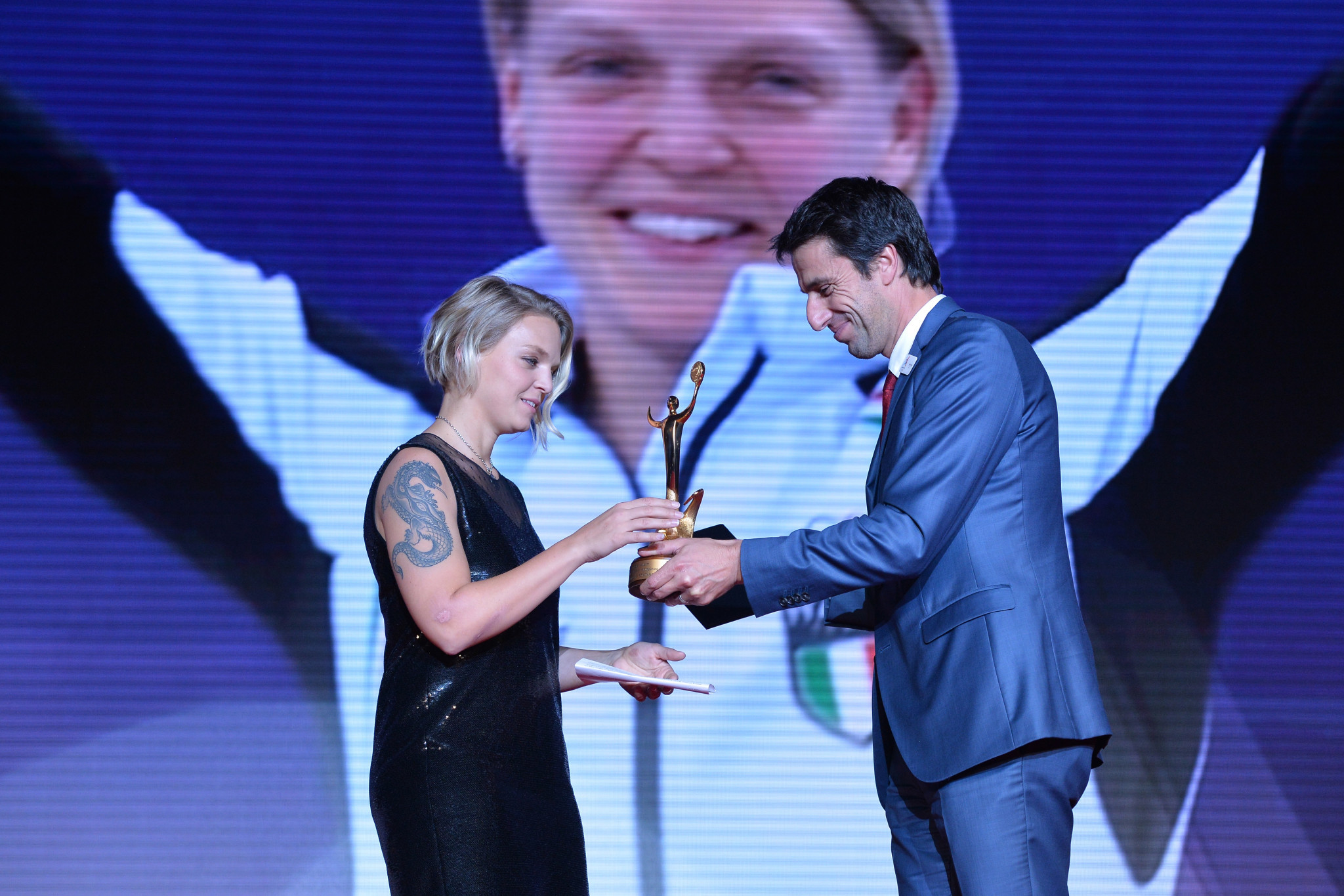 Italy's Arianna Fontana won the best female athlete honour for Pyeongchang 2018 ©Getty Images