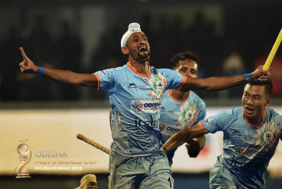 Hosts India get off to winning start at men's Hockey World Cup