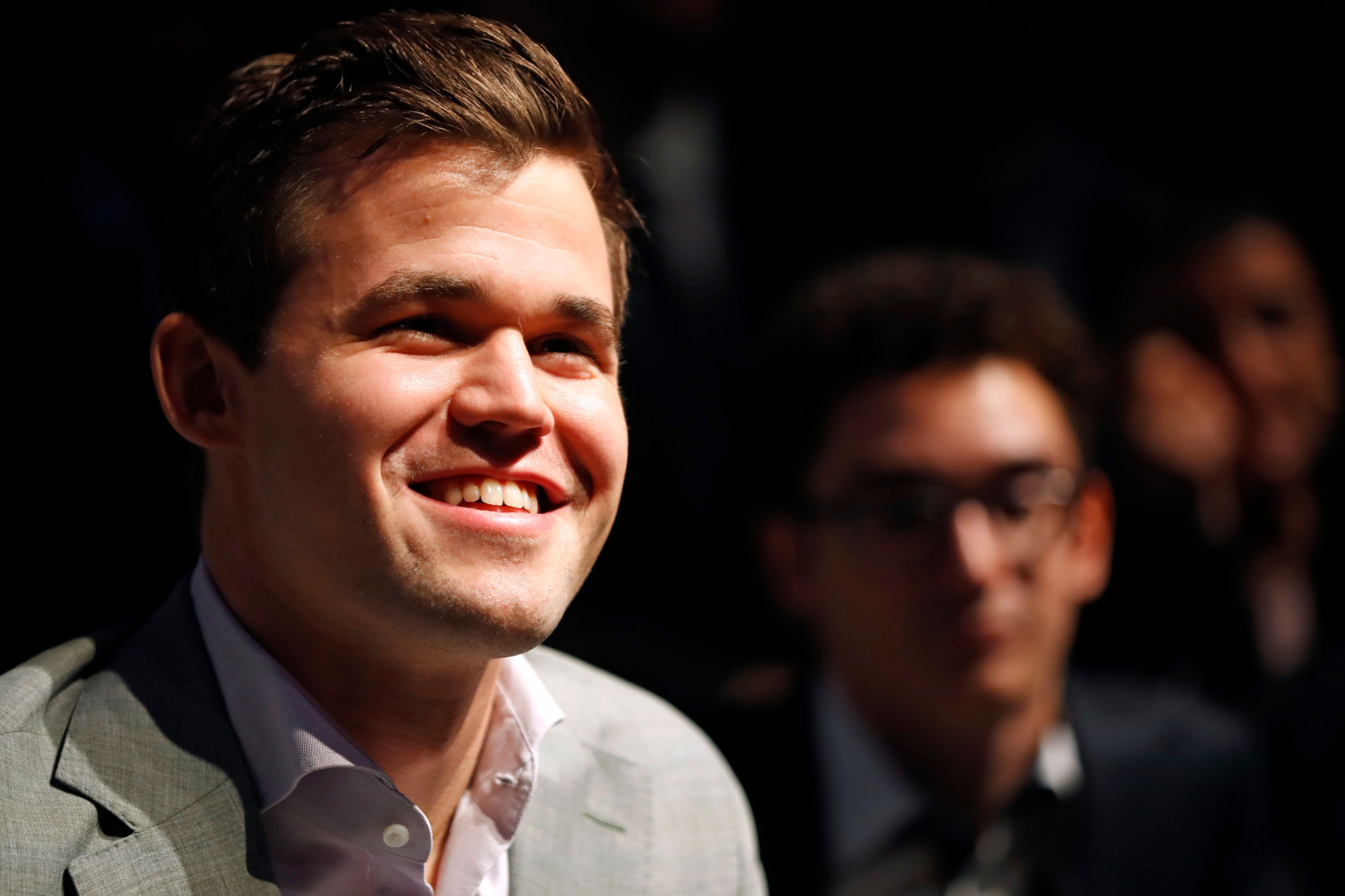 Norway's Magnus Carlsen won the World Chess Championship today after 12 draws forced a tie break ©Getty Images