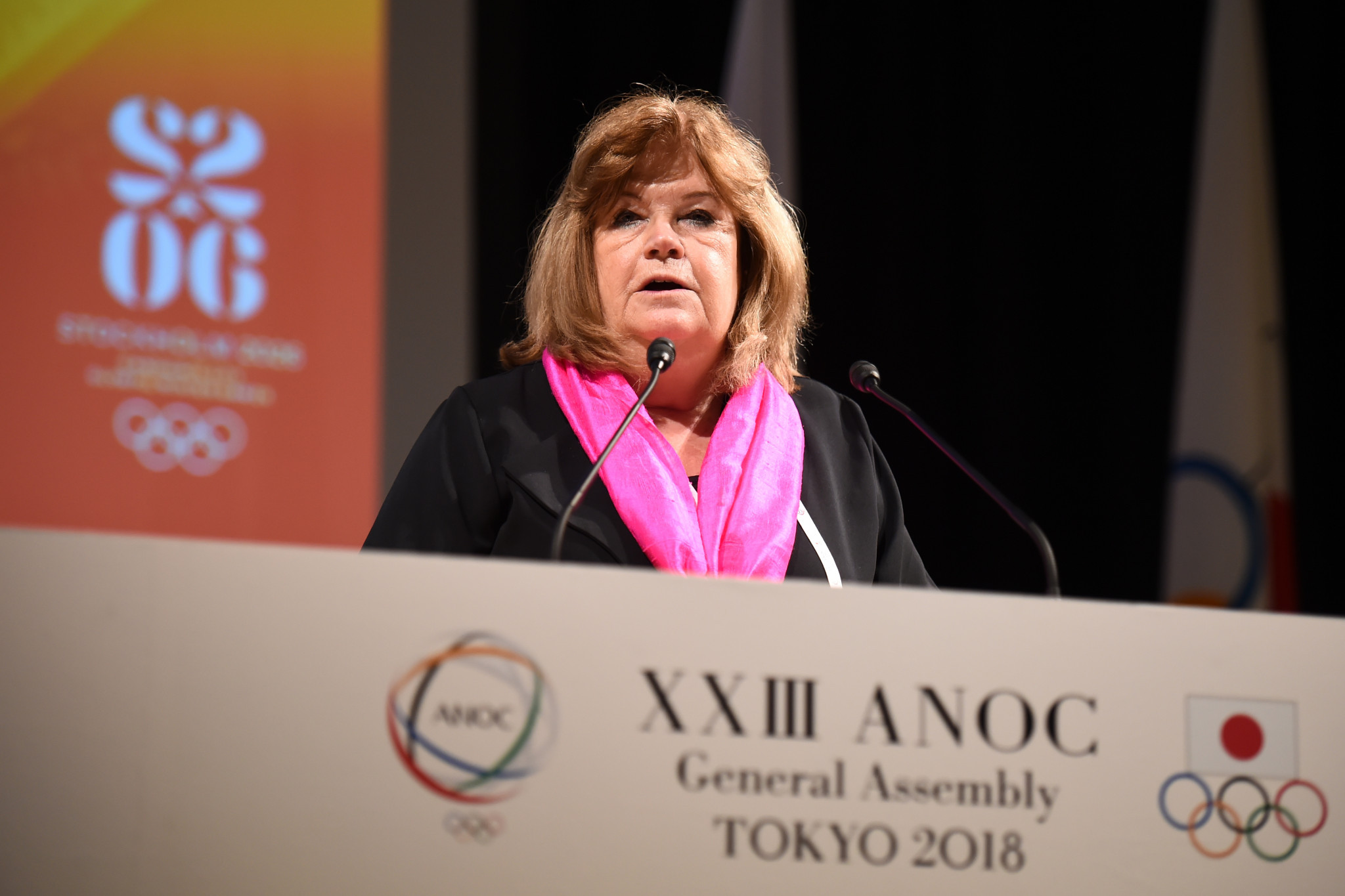 Gunilla Lindberg asserted that Stockholm 2026 was the partner the IOC needed right now ©Getty Images