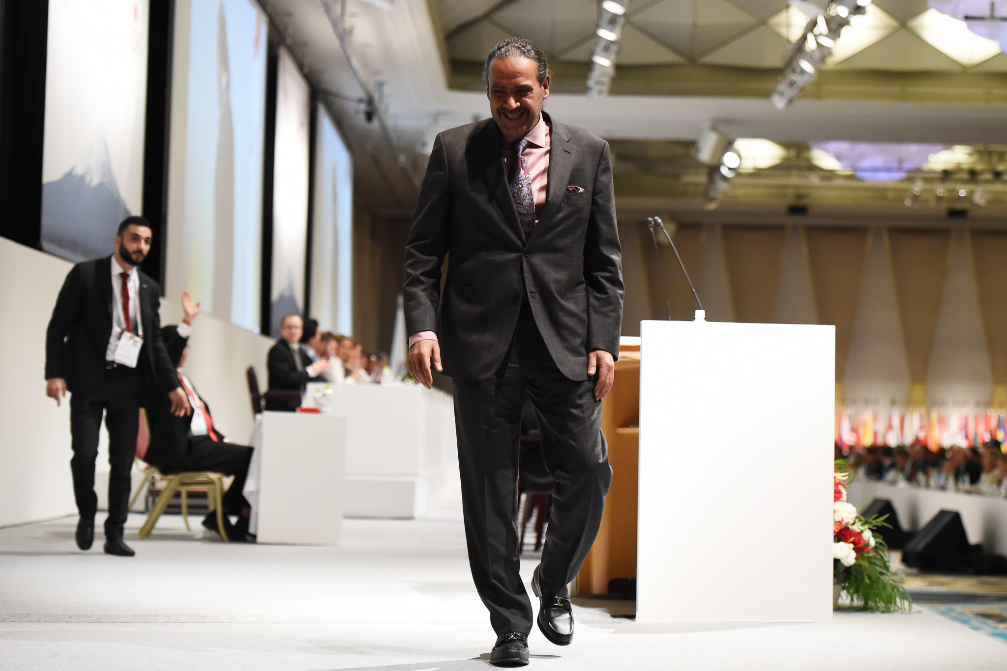 Sheikh Ahmad steps aside as ANOC President on opening day of General Assembly