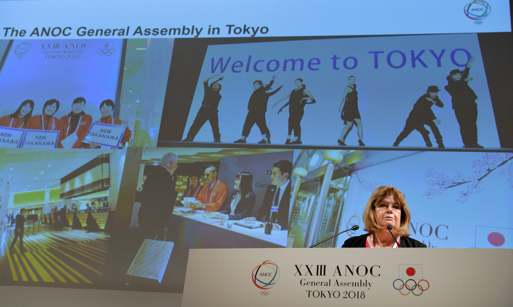 Gunilla Lindberg presented her ANOC secretary general report ©Getty Images