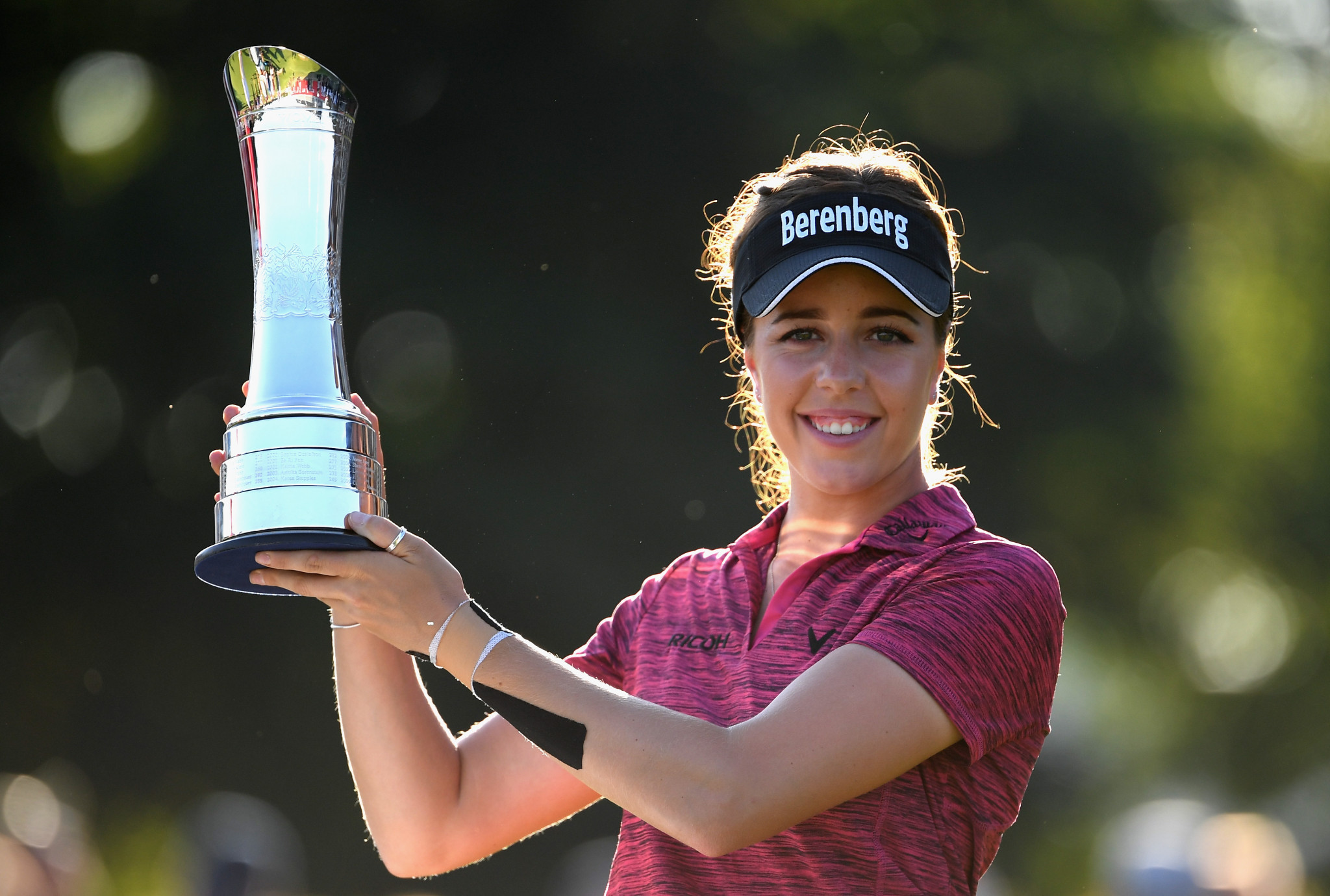 Georgia Hall won the 2018 Women's British Open at Royal Lytham and St Annes ©Getty Images