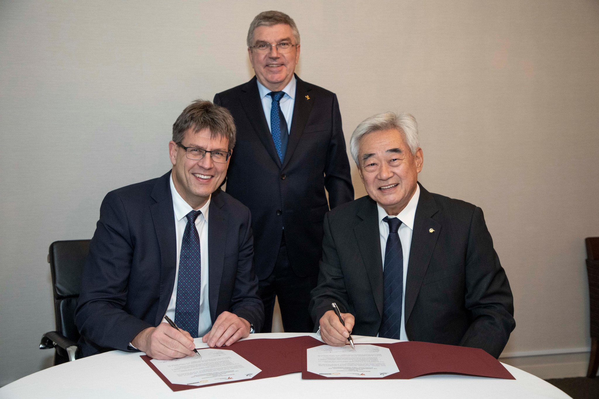 The Taekwondo Humanitarian Foundation and International Table Tennis Federation have agreed to work together to promote peace through sport ©World Taekwondo