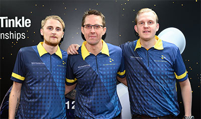 Sweden take lead in trios qualifying event at Men's World Tenpin Bowling Championships