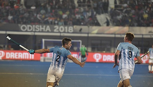 Olympic champions Argentina beat Spain in thriller at Men's Hockey World Cup