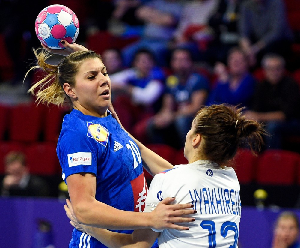 Hosts France were narrowly defeated in the opening game of the European Women's Handball Championships in Nancy ©Getty Images