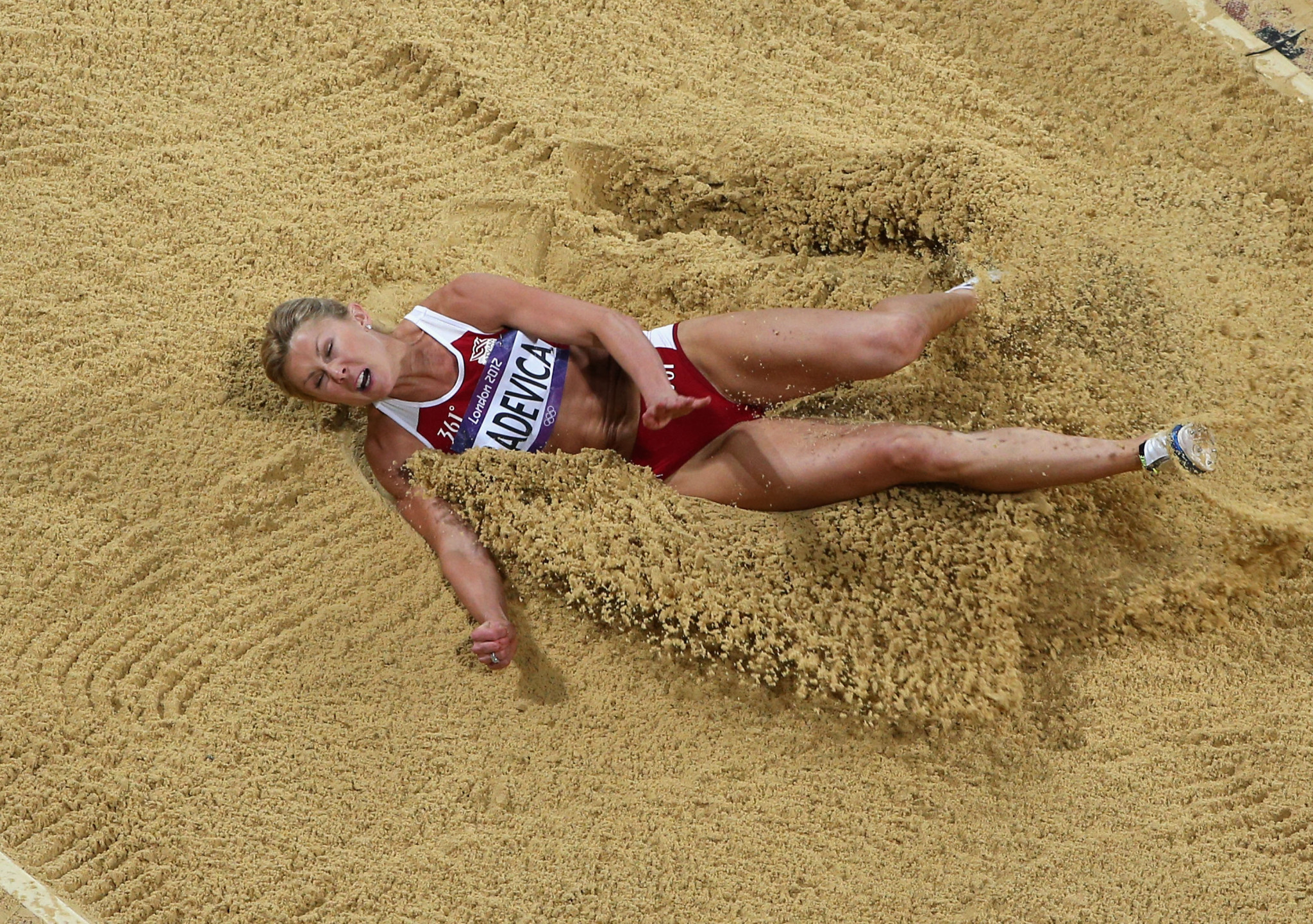 Retired long jumper Ineta Radevica has resigned as Latvian Athletics Association President following her positive London 2012 retest ©Getty Images