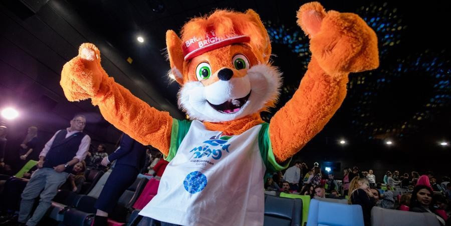 Lesik the fox unveiled as Minsk 2019 mascot