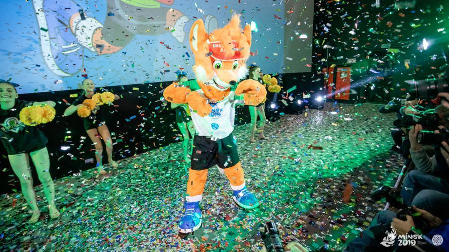 Lesik the fox came to earth after a walk of one million steps, it has been revealed after he was introduced as the mascot for next year's European Games in Minsk ©Minsk 2019