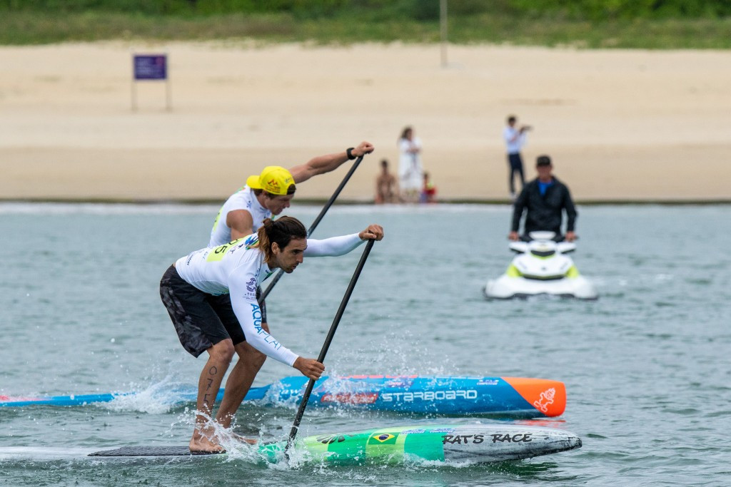 Brazil's Arthur Santacreu finished first in all his races today ©ISA/Pablo Jímenez