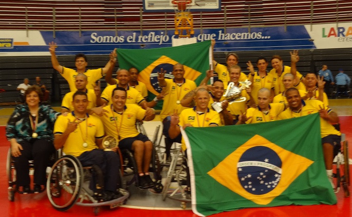 Brazil have previously had success at the Men's South America Championship, including in 2012 ©IWBF