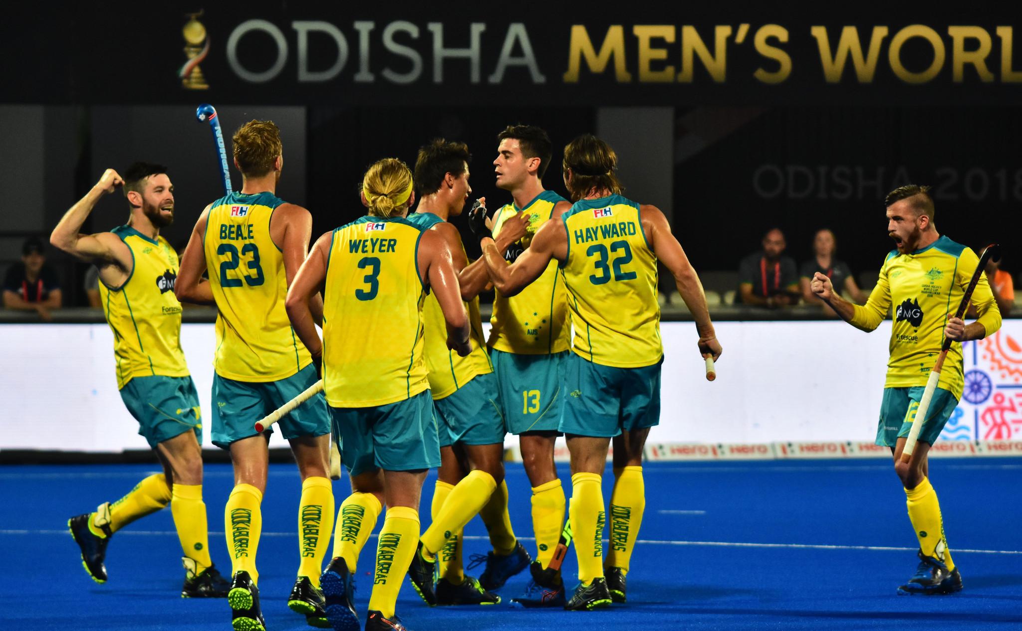 Australia off to winning start but England falter at Men's Hockey World Cup