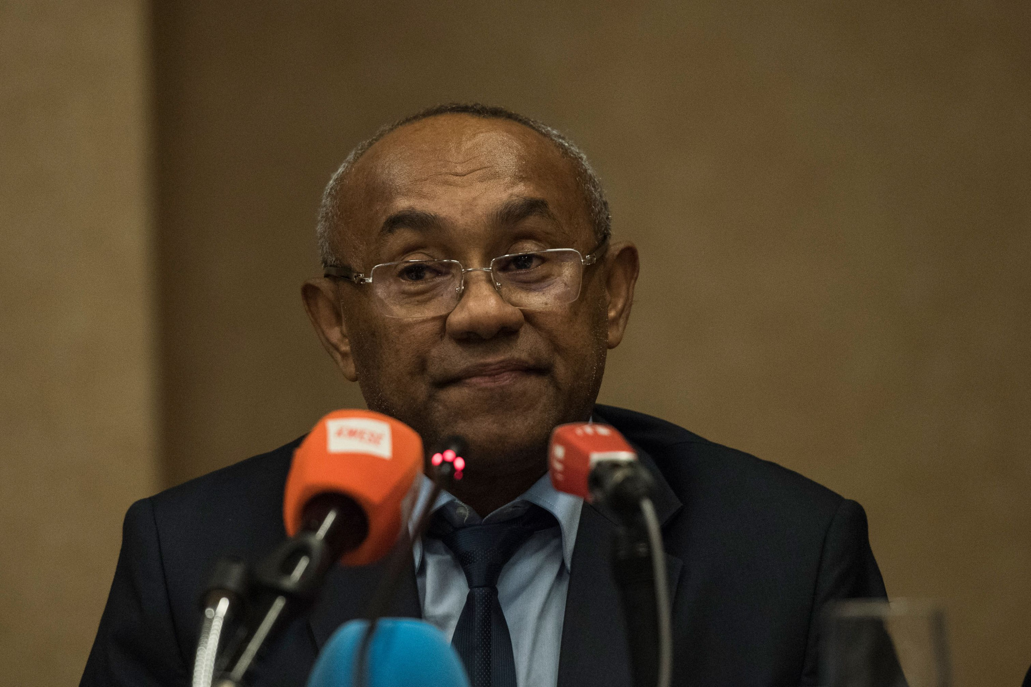 CAF President Ahmad claimed he was confident a new host would be found for the 2019 tournament even though a final decision is not due to be made until December 31 - only six months before the tournament is due to start ©Getty Images