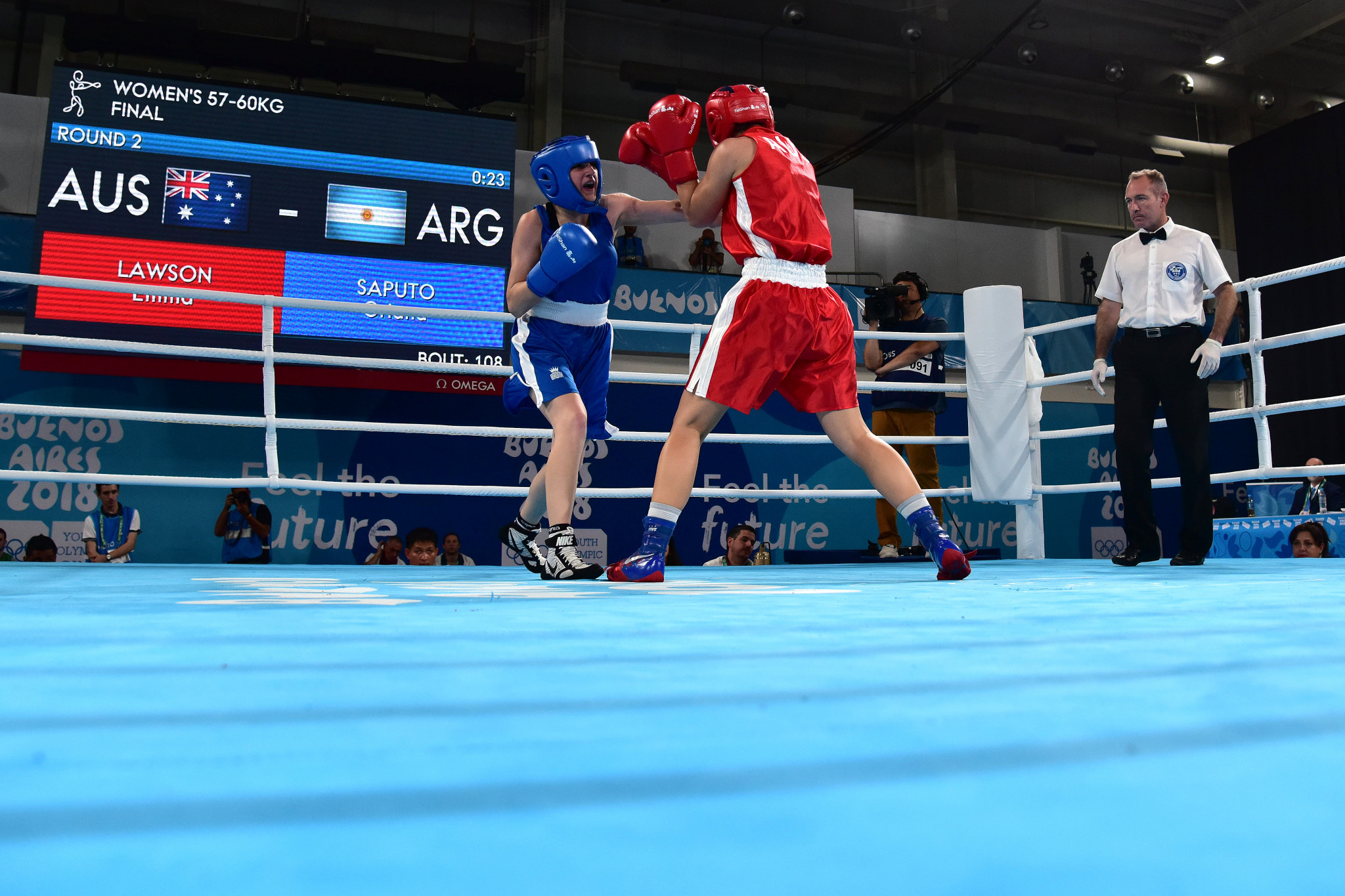 The boxing event at Buenos Aires 2018 had to be overseen by an independent auditor ©Getty Images
