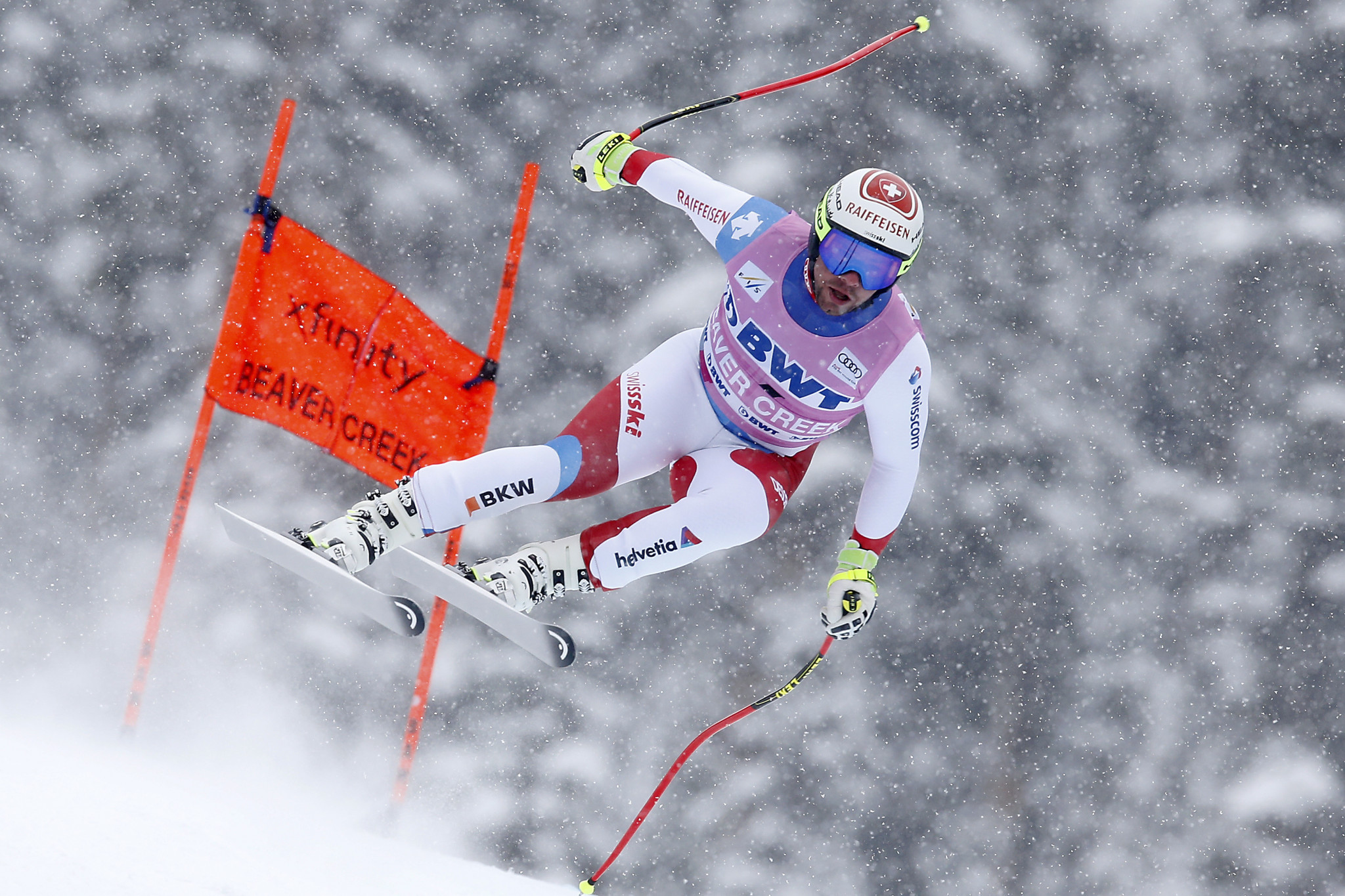 Feuz and Schmidhofer triumph as FIS Alpine Skiing World Cup season resumes