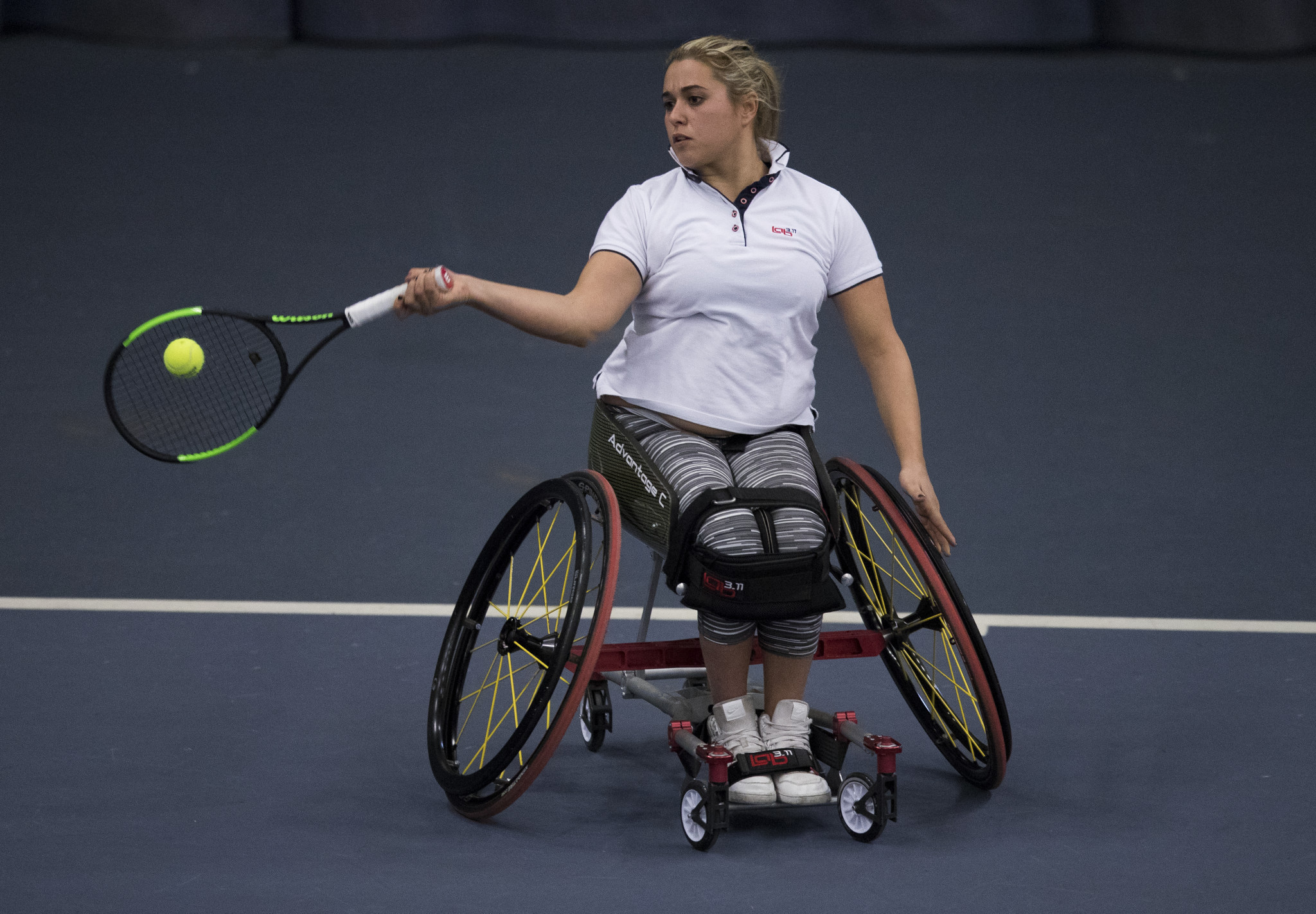 Capocci earns women's singles semi-final place at Wheelchair Tennis Masters in Orlando