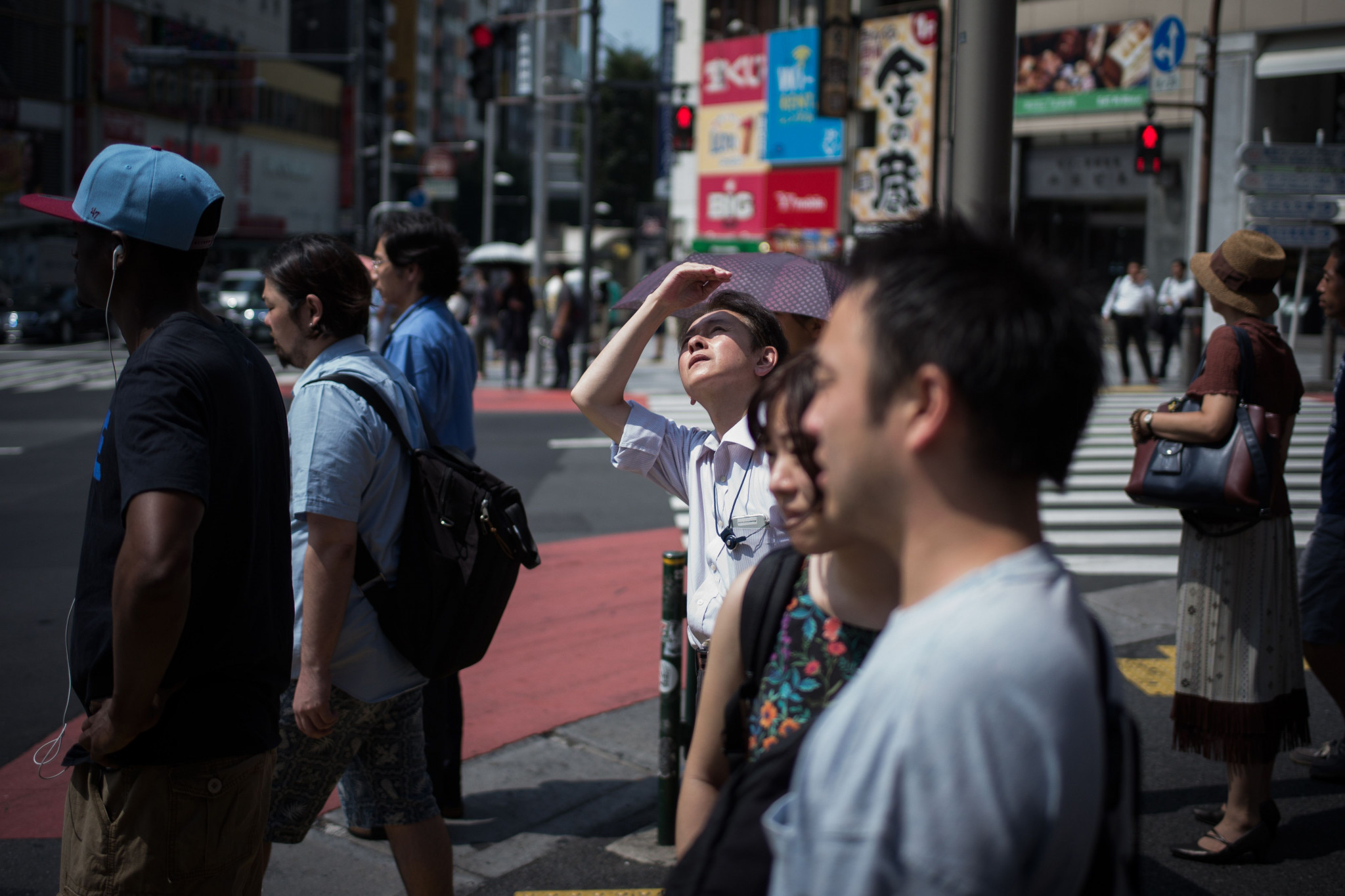 Nearly 100 people died of heatstroke in Tokyo in July as the city suffered record temperatures ©Getty Images