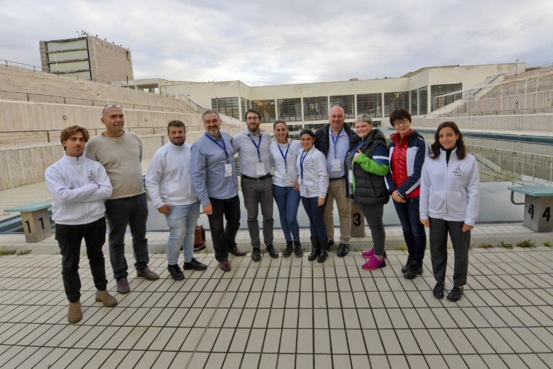 National delegations visit Naples to assess facilities before 2019 Summer Universiade