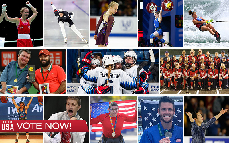 Voting is open for the United States Olympic Committee's Best of November awards ©TeamUSA