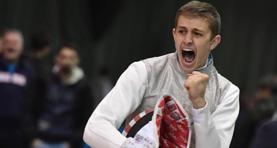 Nick Itkin is up for the men's award after winning his first fencing World Cup medal in Bonn ©TeamUSA