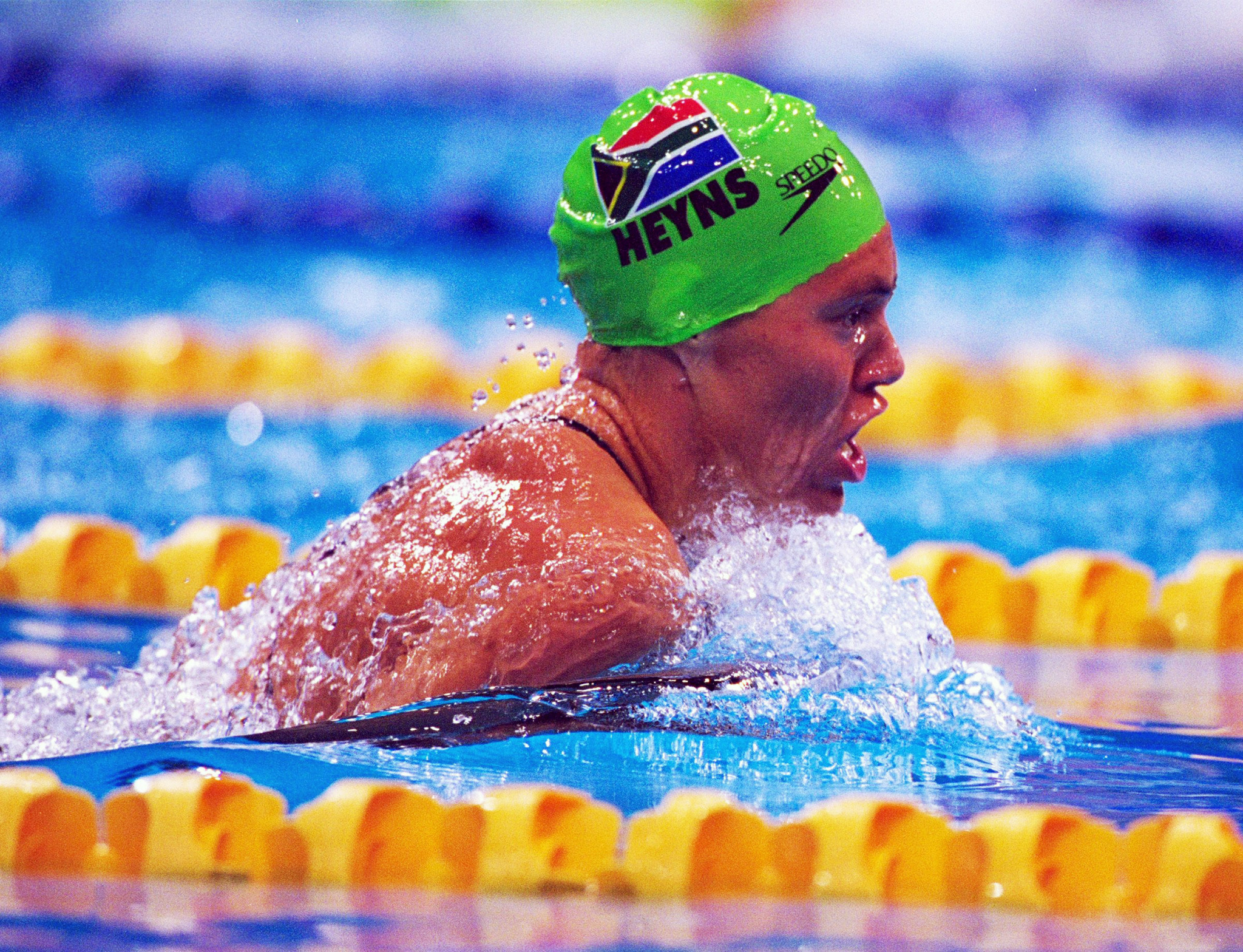 South African double Olympic champion Penny Heyns has replaced Beckie Scott on the WADA CRC ©Getty Images